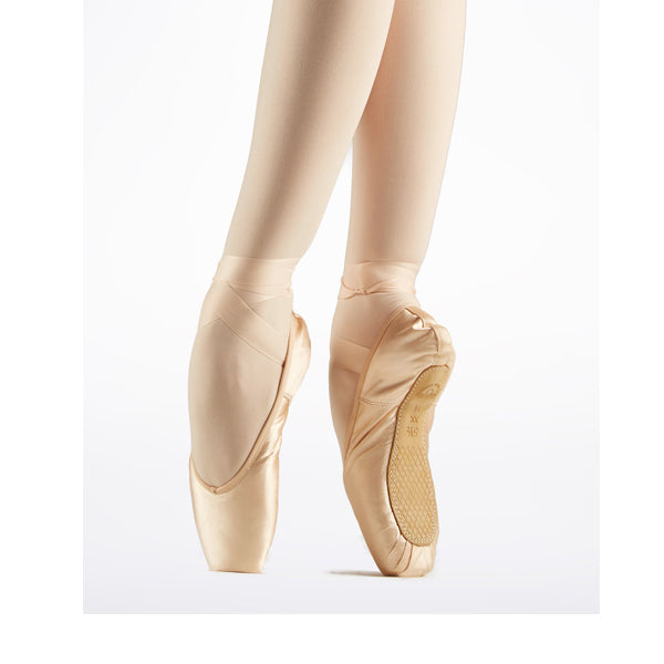 grishko nova pro pointe shoe bottom view