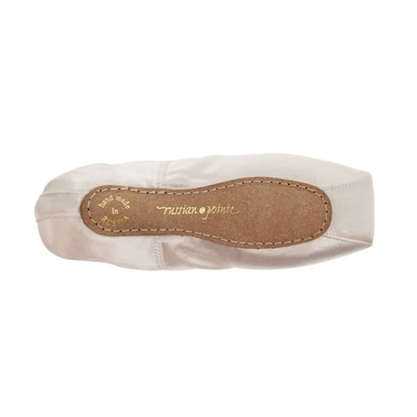 russian pointe brava pointe shoes bottom view