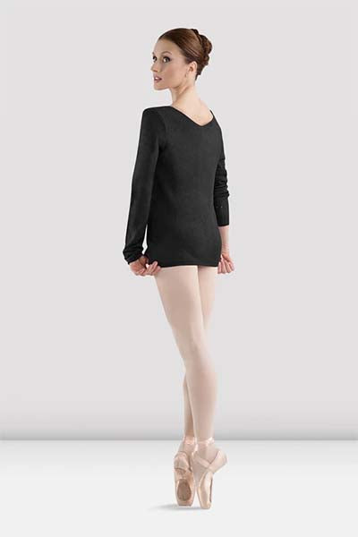 Bloch Z0959 Adult V-Neck Long Sleeve Sweater