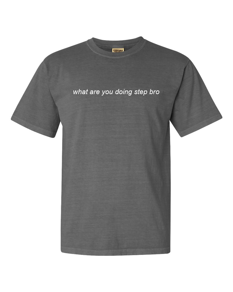 what are you doing stepbro T-Shirt