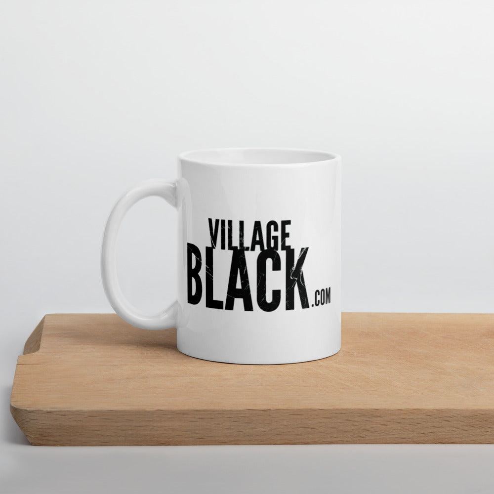 Village Black with Pink Exclusive Village Black - Mug