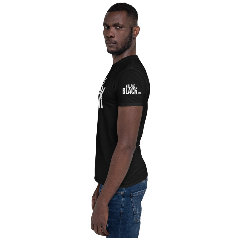 Village Black Logo Plus Unisex T-Shirt