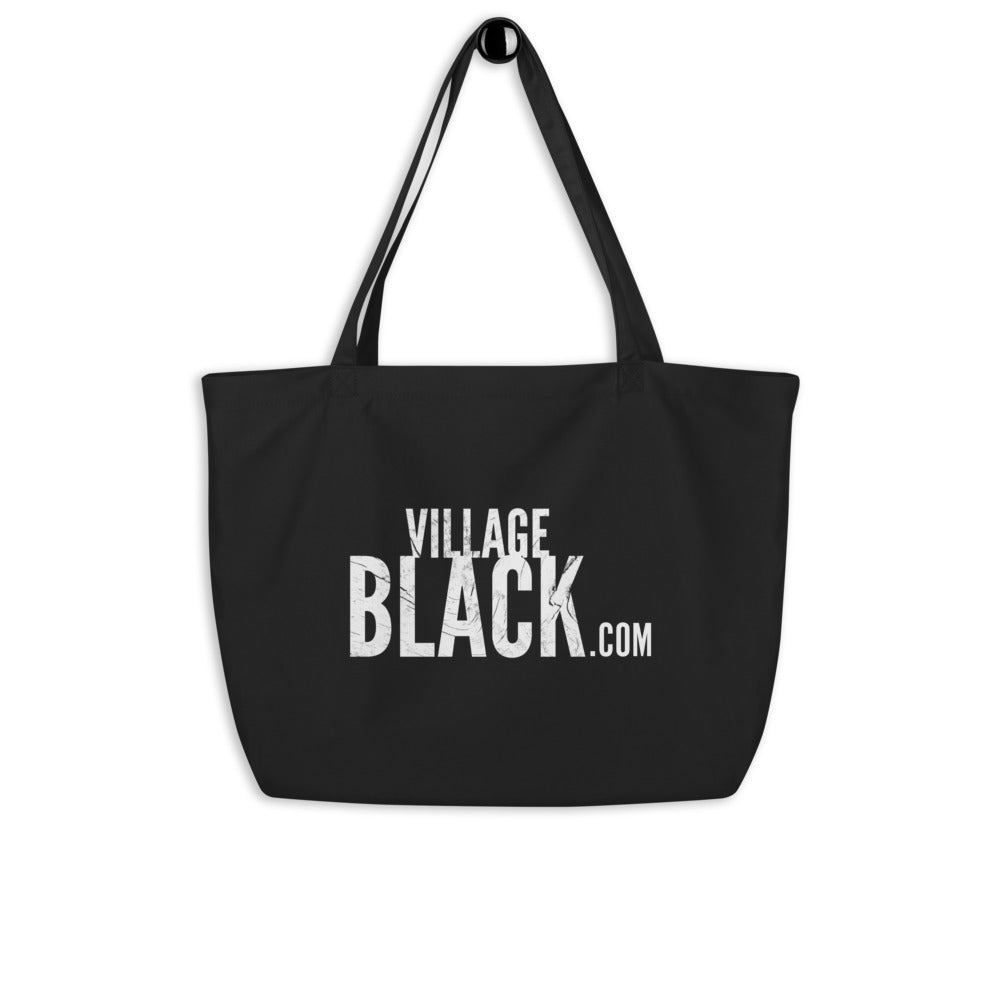Biden / Harris Battle for the Soul of the Nation - Large organic tote bag