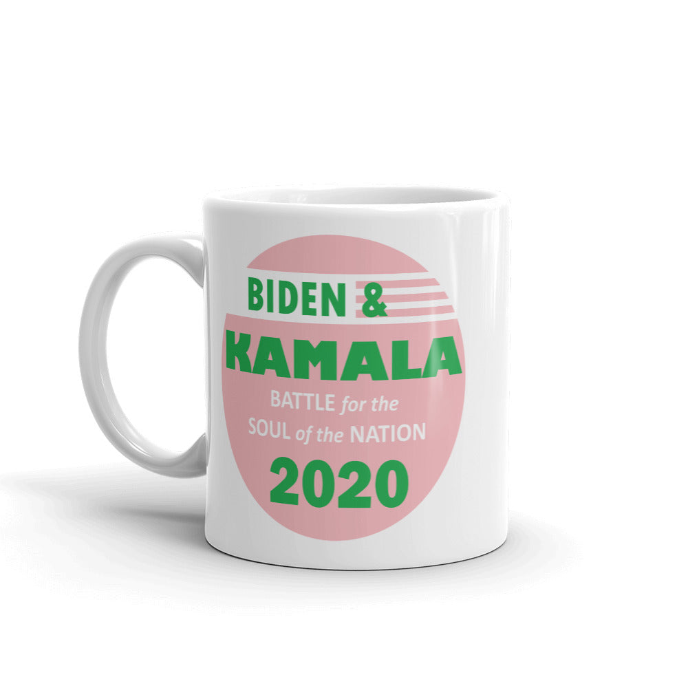 Biden / Harris Battle for the Soul of the Nation - AKA - Mug