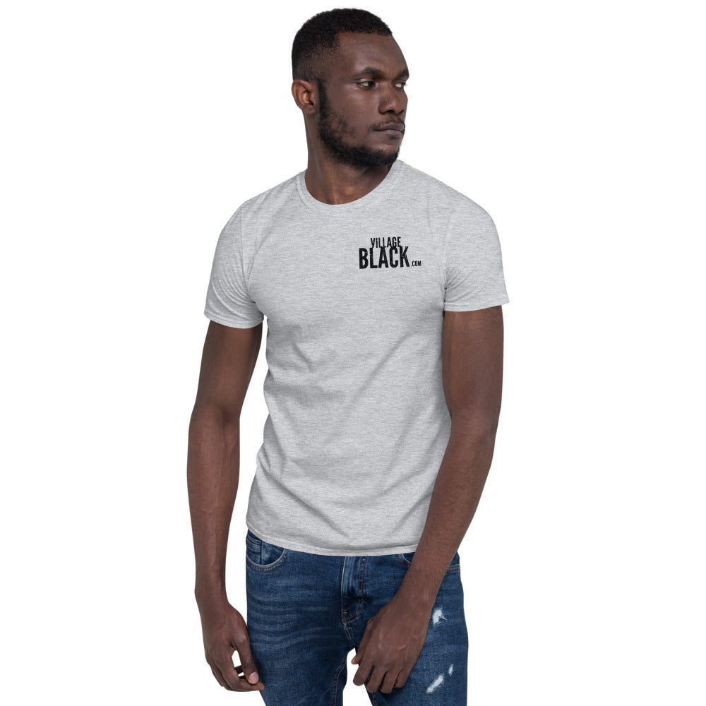 Floyd 8:46 on back - Unisex T-Shirt