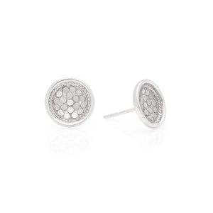 Anna Beck Sterling Silver Dish Post Earrings
