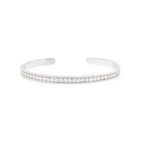 Anna Beck Classic Sterling Silver Stacking Cuff