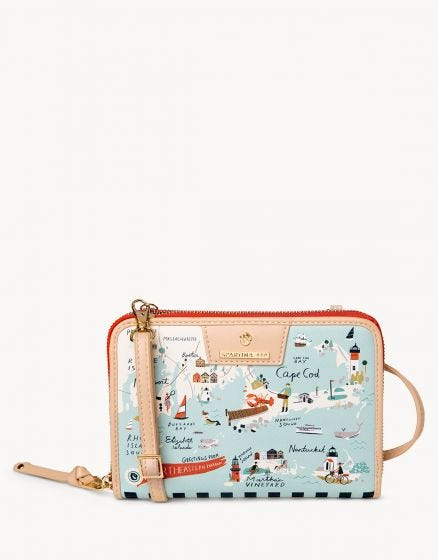 Spartina North Eastern Harbors All In One Phone Crossbody
