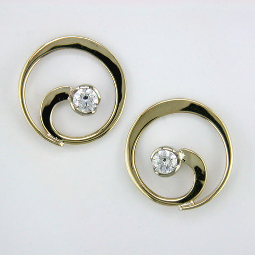 Tom Kruskal  Open Loop Earrings
