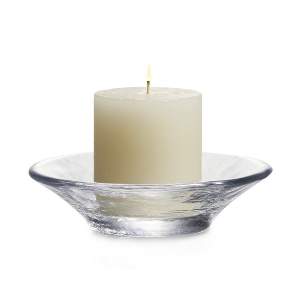 Simon Pearce Essex Candleholder