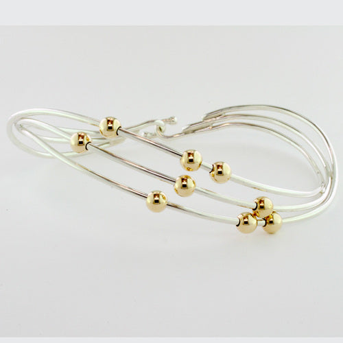 Tom Kruskal  Beaded Twist  Bracelet