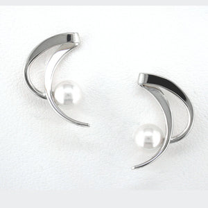 Tom Kruskal Crescent Earrings