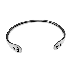 East Wind Anchors Aweigh Sterling Silver Cuff