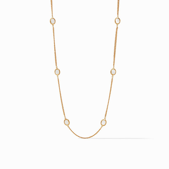 Julie Vos Calypso Station Mother of Pearl Necklace