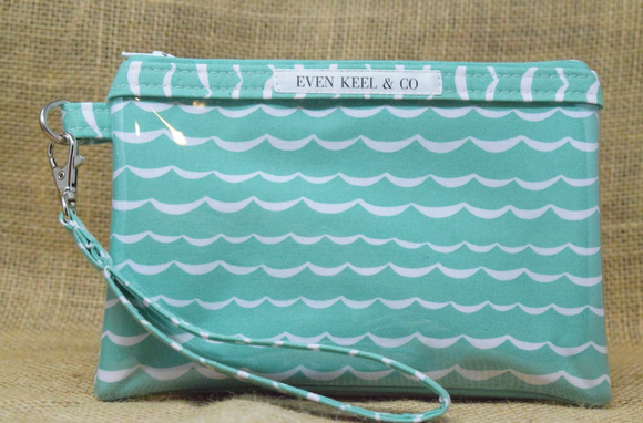 Even Keel Caribbean Waves Smartphone Wristlet