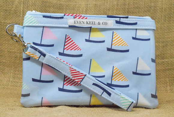 Even Keel Day Sail Smartphone Wristlet