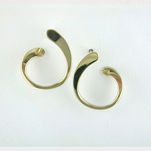 Tom Kruskal Tiny Cobra Earrings