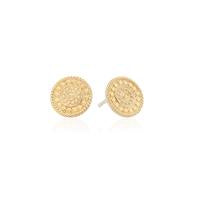 Anna Beck Contrast Dotted Stud  Earrings