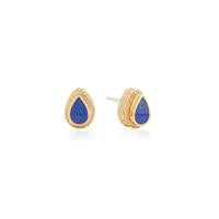 Anna Beck Lapis Teardrop Stud Earrings