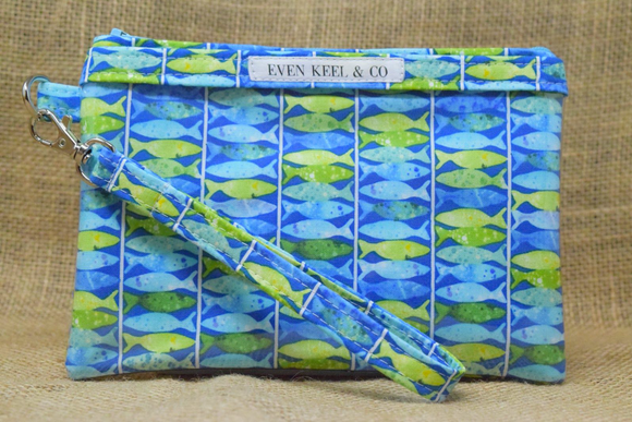 Even Keel Fish Ladder Smartphone Wristlet