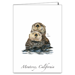 ES&W Boxed Cards Sea Otters II