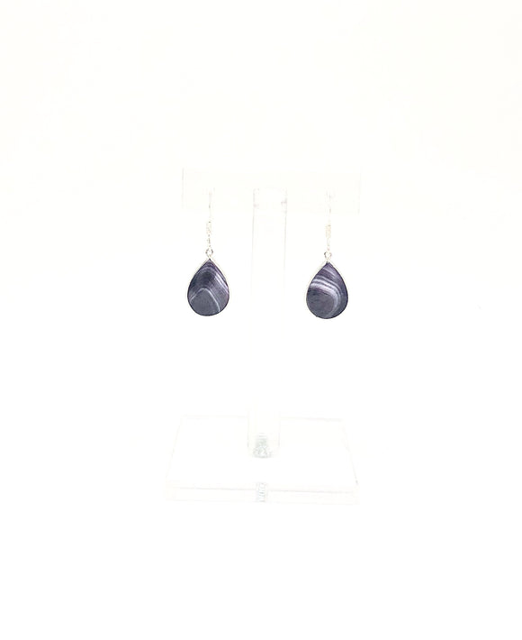 Barn Co Silver Large Teardrop Earrings