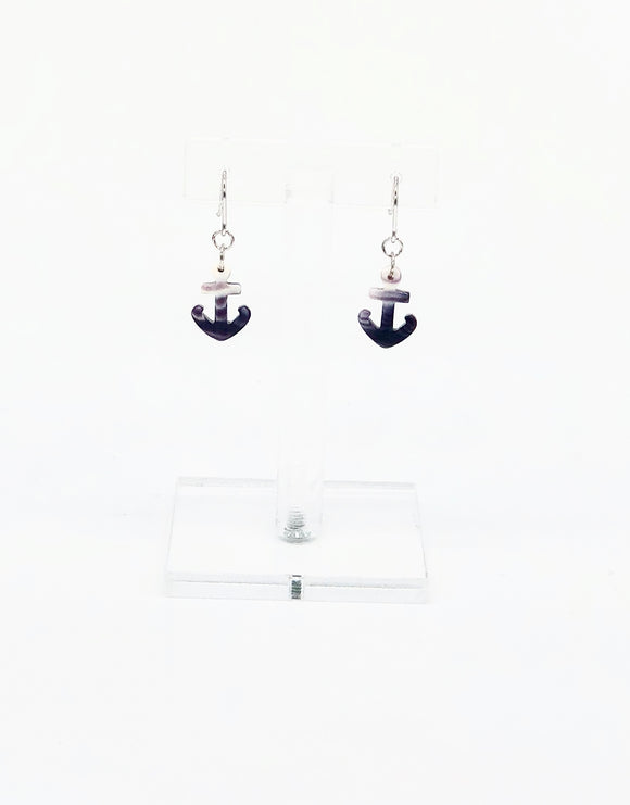 Barn Co Anchor Dangle Earrings