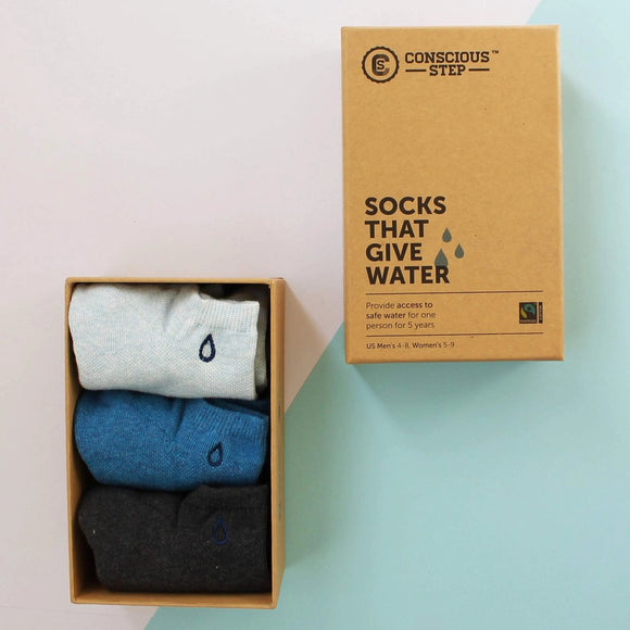 Conscious Step Socks that Give Water S