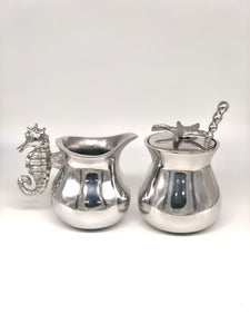 Mariposa Classic Sugar and Creamer Set