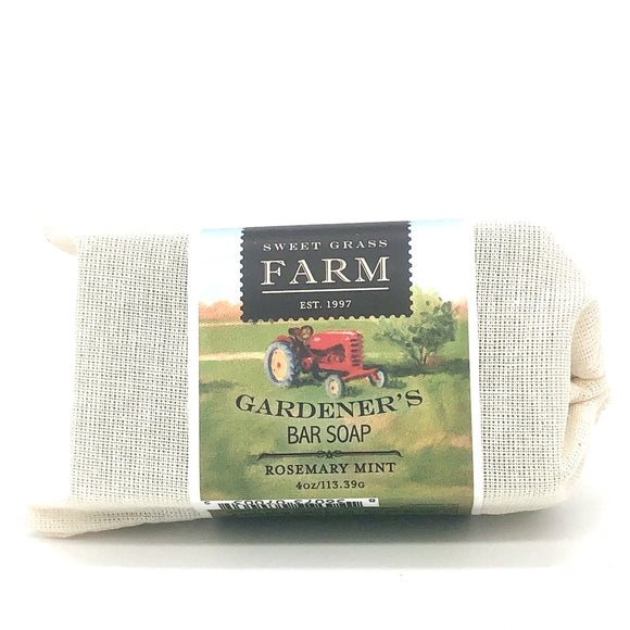Sweet Grass Farm Gardener's Collection Handcut Bar Soap