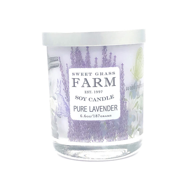 Sweet Grass Farm Meadow Collection Soy Candle Lavender