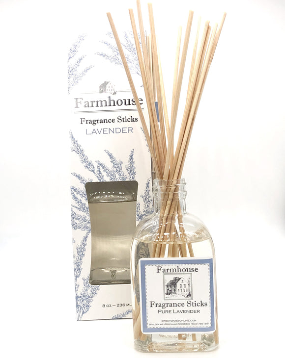 Sweet Grass Farm Meadow Collection Fragrance Sticks Lavender