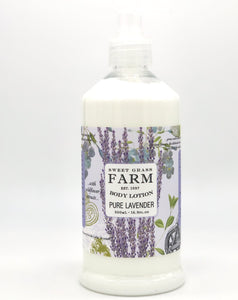 Sweet Grass Farm Meadow Collection Body Lotion Lavender