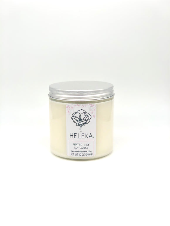 Heleka Candle Water Lily