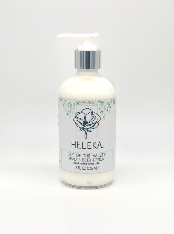 Heleka Lotion 8oz Lily of the Valley