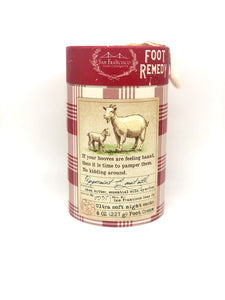 Commonwealth Soap Remedy Foot Kit Peppermint & Goat Milk