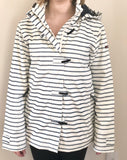 Batela Navy Stripe Raincoat