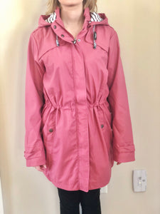 Batela Old Rose Raincoat