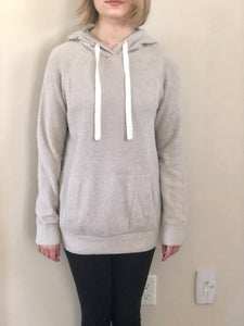 Barefoot Dreams Women's Hoodie Silver Small