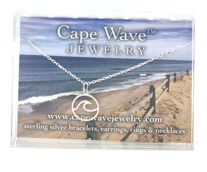 East Wind  Small Cape Cod Wave Necklace