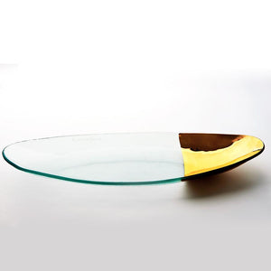 Annieglass Mod Oval Server