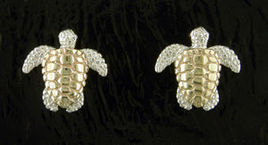 Steven Douglas Sea Turtle Earrings