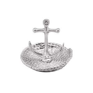 Mariposa Anchor and Rope Ring Dish