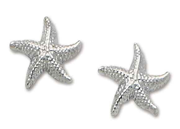 D'Amico Sterling Silver Starfish Post Earring