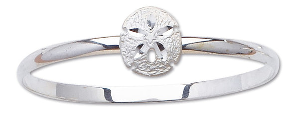 D'Amico Sterling Silver Sand Dollar Bangle