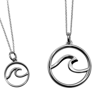 East Wind Large Cape Cod Wave Necklace