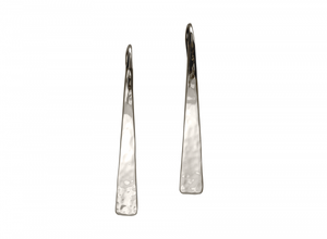 Ed Levin Hammered Taper Earrings