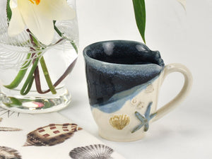 Mussels & More Coffee Mug Navy