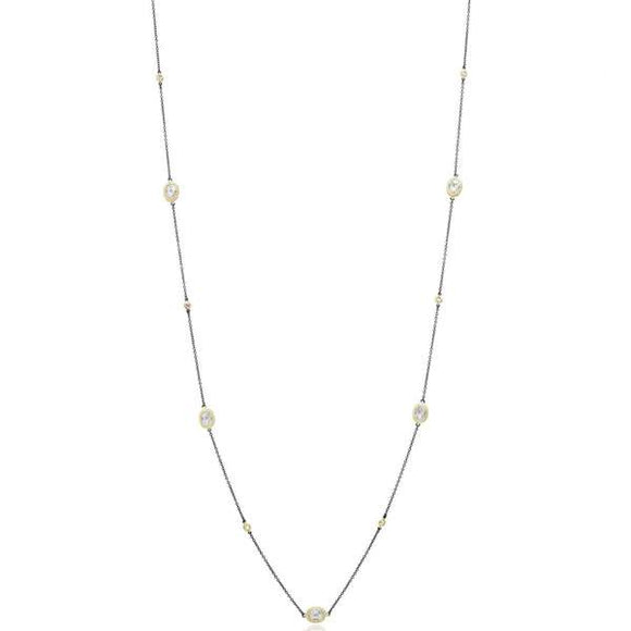 Freida Rothman Raindrop Station Necklace