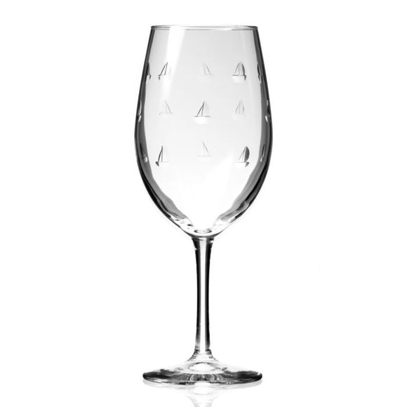 Rolf Sailing Large Wine Glass